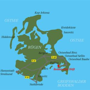 Anreise Having Hof Rügen